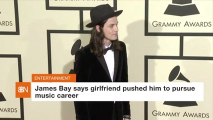 James Bay And His Girlfriend