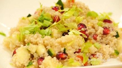 Receta në 2 minuta - Sallatë Quinoa me perime