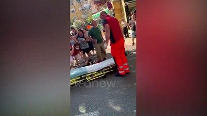 Ora News - Aksident në zonën e Xhamllikut, automjeti përplas keqazi një kalimtare