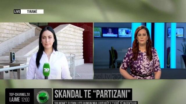"""Skandal te """"Partizani""""/ Sulmohet futbollisti rumun nga lojtarët e tjerë të infektuar"""