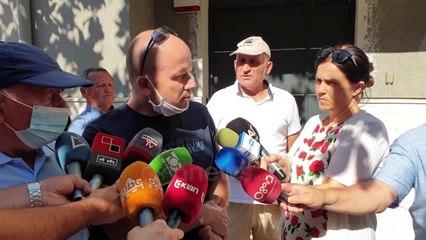 Pallati i dëmtuar nga tërmeti, banorët protestë para Prokurorisë Durrës: Hetoni ekspertizën