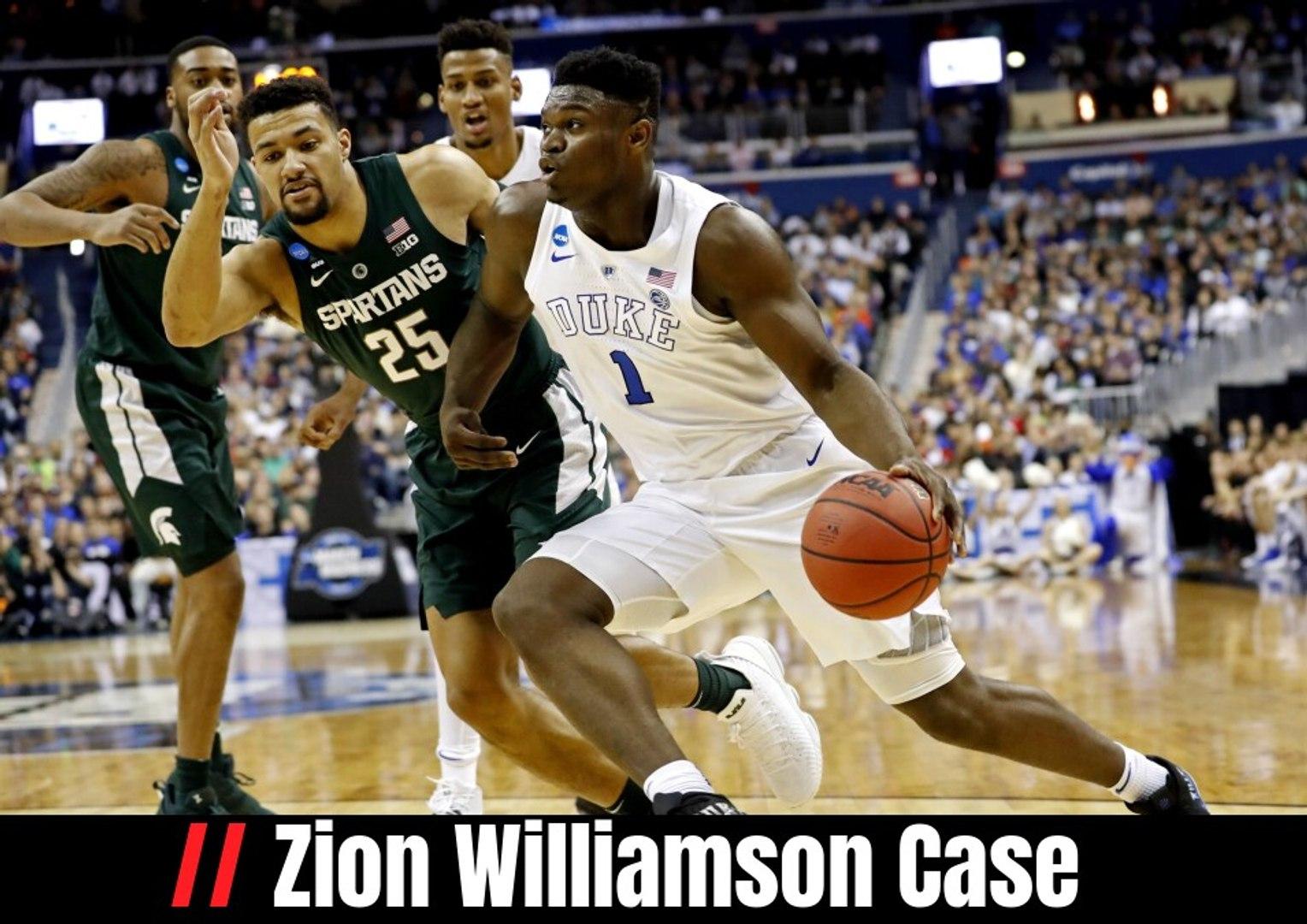 Zion Williamson Case Video Dailymotion