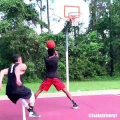 Vous n'avez jamais vu ce dunk auparavant