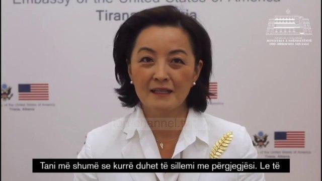 Top News - Mesazhi i Yuri Kim/ Lufta ndaj covid, nuk ka mbaruar