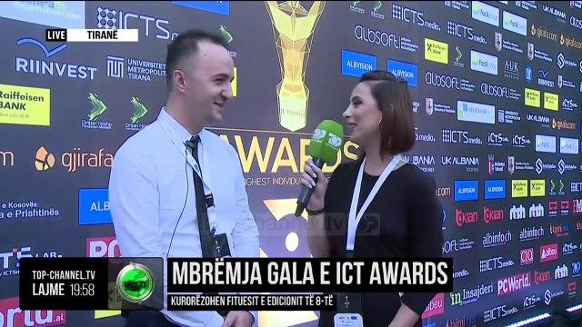 Mbrëmja Gala e ICT Awards/ Kurorëzohen fituesit e edicionit të 8-të