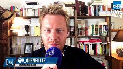Roger Milla en direct sur France Bleu Hérault : 100% Paillade avec Bertrand Queneutte et Geoffrey  Dernis