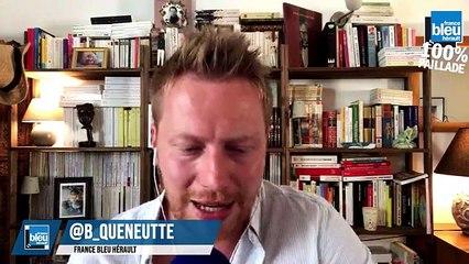 Mairie-Georges Bbuffet en direct sur France Bleu Hérault : 100% Paillade avec Bertrand Queneutte et Geoffrey Dernis