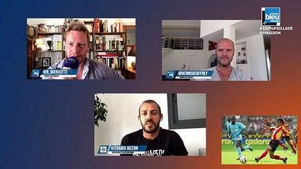 Vitorino Hilton en direct sur France Bleu Hérault : 100% Paillade avec Bertrand Queneutte et Geoffrey Dernis
