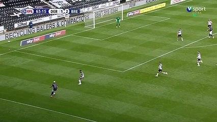 Deuxième but de Benrahma vs Derby County