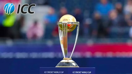 Cricket World Cup 2023 schedule changed