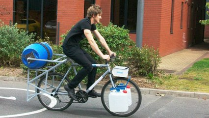 A Pedal-Powered Washing Machine For The Developing World