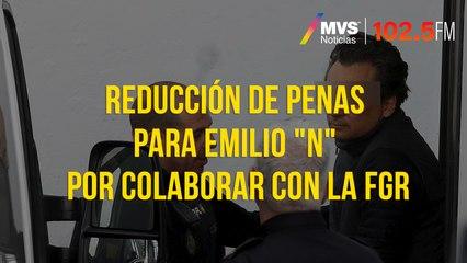 """Reducción de penas para Emilio """"N"""" por colaborar con la FGR"""