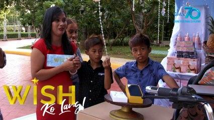 Wish Ko Lang: Pamilyang nawalay sa isa't isa dahil sa lockdown, biniyayaan ng negosyo, scholarship at salapi ng Wish Ko Lang!
