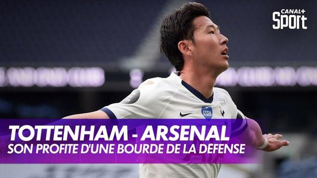 La bourde de la défense d'Arsenal qui profite à Son !