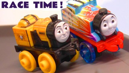 Thomas and Friends Mini Racing Challenge with the Funny Funlings and Thomas the Tank Engine in this Family Friendly Full Episode English Toy Story for Kids