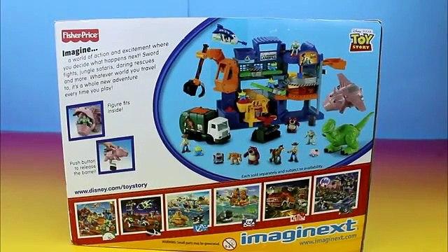 Disney Pixar Toy Story Imaginext Evil Dr. Porkchop's Spaceship Buzz Lightyear & Rex