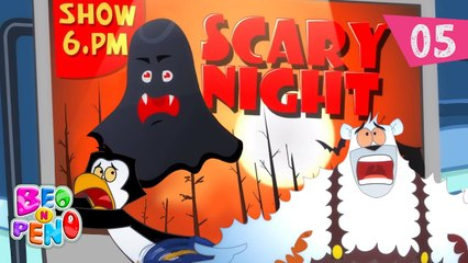 Beo n Peno - Scary Night - Episode 5 - Cartoon for kids