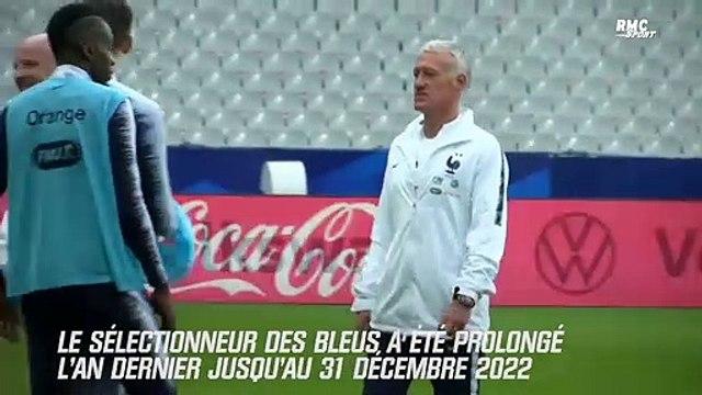 Equipe de France : Deschamps n'exclut pas une nouvelle prolongation