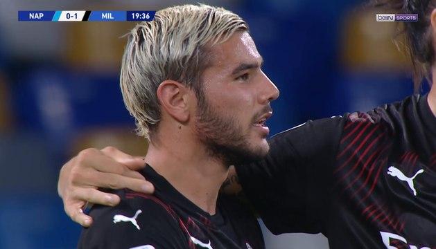 AC Milan : Theo Hernandez refait parler de lui !