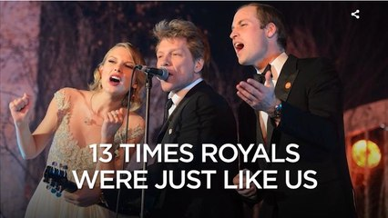 13 Times Royals were normal like us