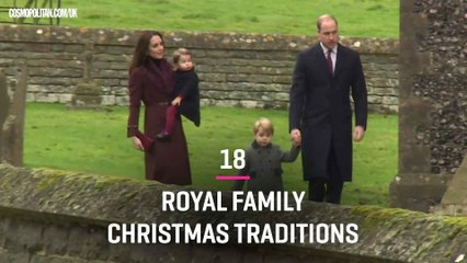 18 Royal Family Christmas Traditions