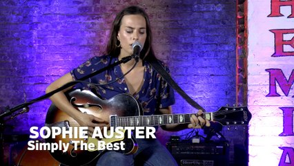 """Dailymotion Elevate: Sophie Auster - """"Simply The Best"""" (Tina Turner cover) live at Cafe Bohemia, NYC"""
