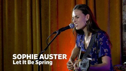 """Dailymotion Elevate: Sophie Auster - """"Let It Be Spring"""" live at Cafe Bohemia, NYC"""