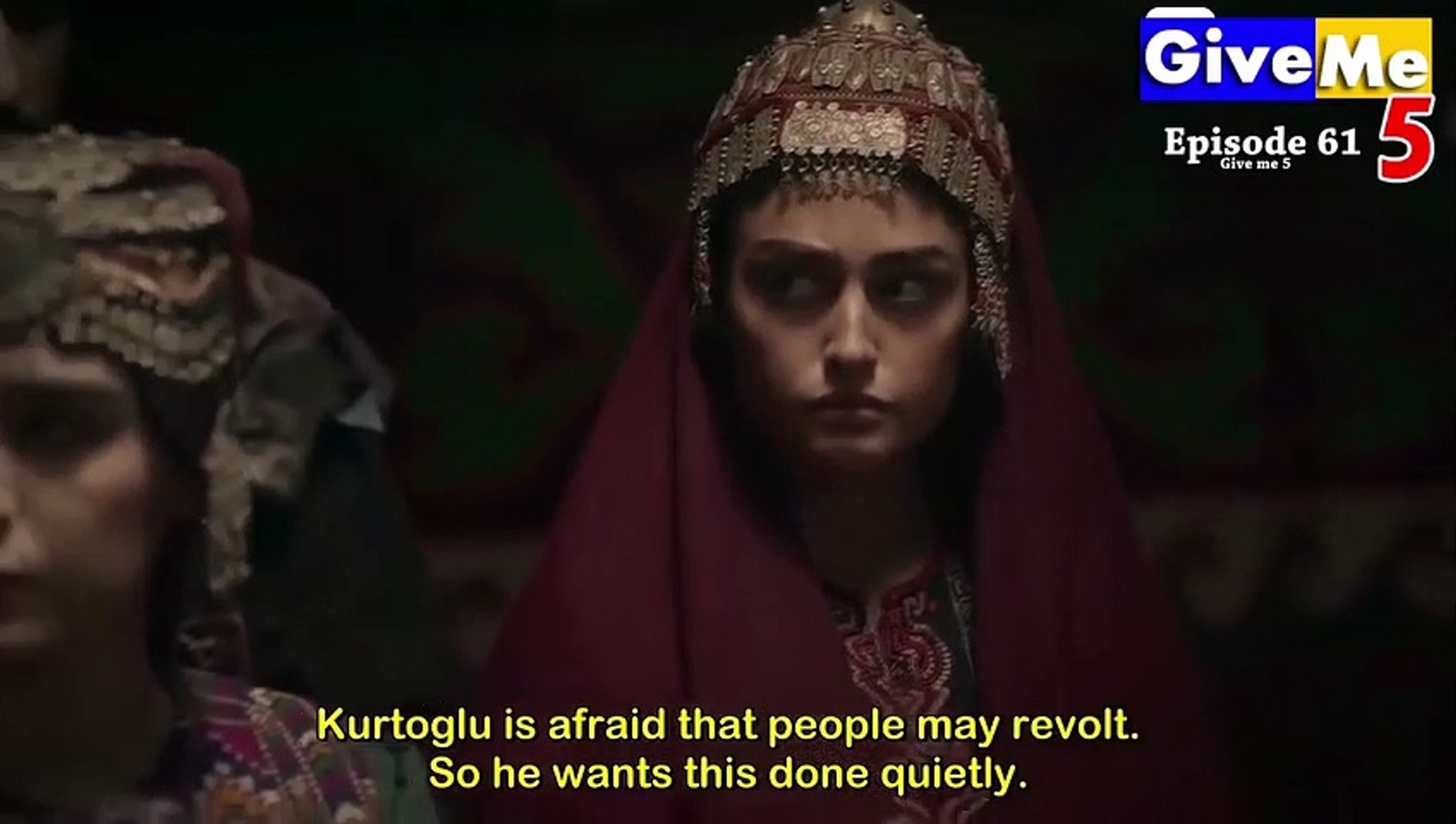 Dirilis Ertugrul Season 1 Urdu EPISODE 61 Watch Online