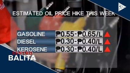 Panibagong oil price hike, nakaamba