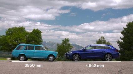 Un coche de familia - del SEAT 1430 Familiar al nuevo SEAT León Sportstourer