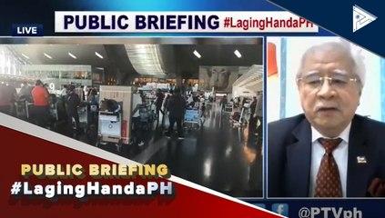 #LagingHanda   Mahigpit na safety protocols sa Qatar, patuloy na ipinatutupad