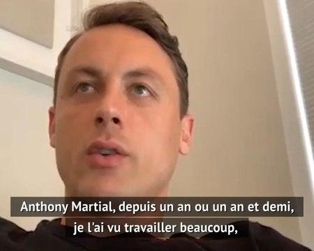 Man Utd - Pour Matic, Martial peut devenir un des meilleurs attaquants du monde