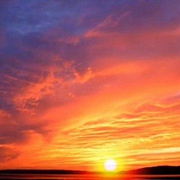 Sunrise for amazing video