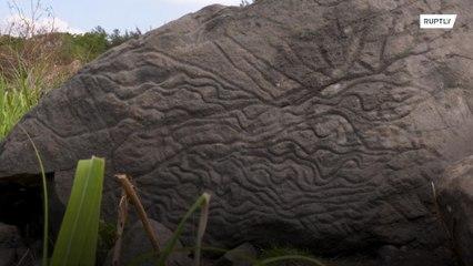 Археологи обнаружили таинственный 2000-летний петроглиф