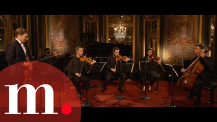 Renaud Capuçon & Nicholas Angelich with Ébène Quartet play Chausson to an Empty Concert Hall
