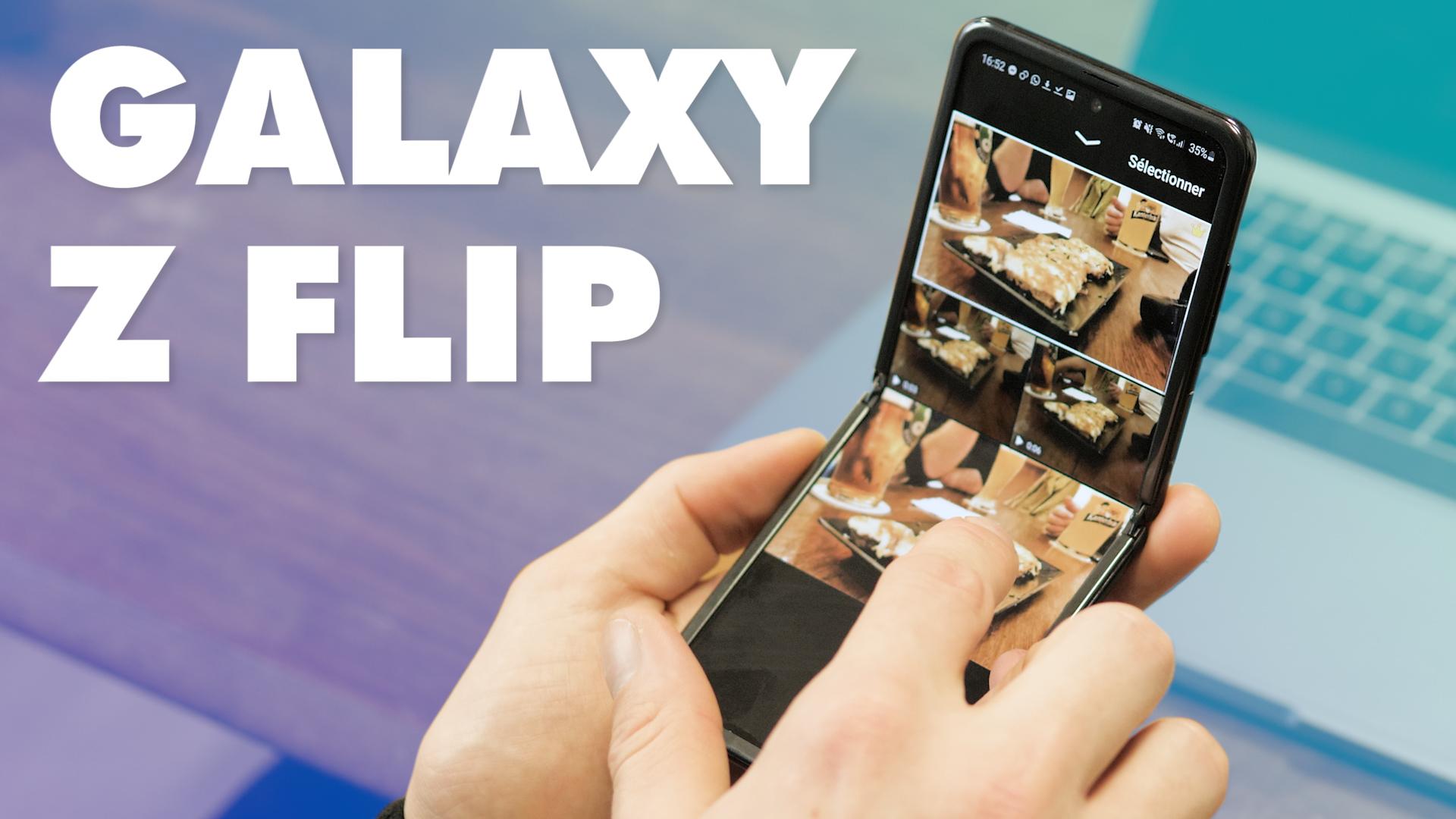 Le Samsung Galaxy Z Flip est-il le premier smartphone pliable digne d'être acheté ?
