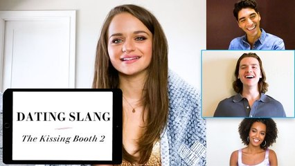 'The Kissing Booth 2' Cast Teaches You Dating Slang