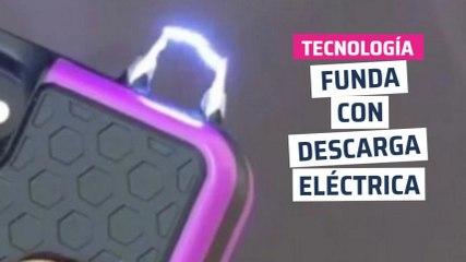 [CH] Funda de móvil con descargas eléctricas antiladrones