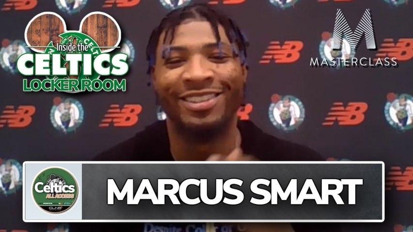 Marcus Smart Says Celtics Making Progress in Bubble