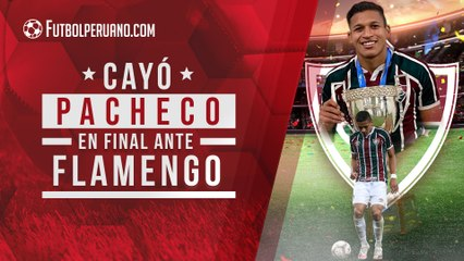 Fernando Pacheco: Fluminense 1-2 Flamengo (Resumen)   Partido de vuelta será este miércoles 15 de julio