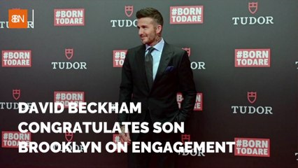 David Beckham's Son Is Getting Married