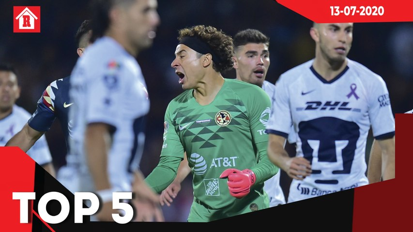 Ochoa: 'América vs Pumas es como el Real Madrid vs Atlético en España' l Top 5