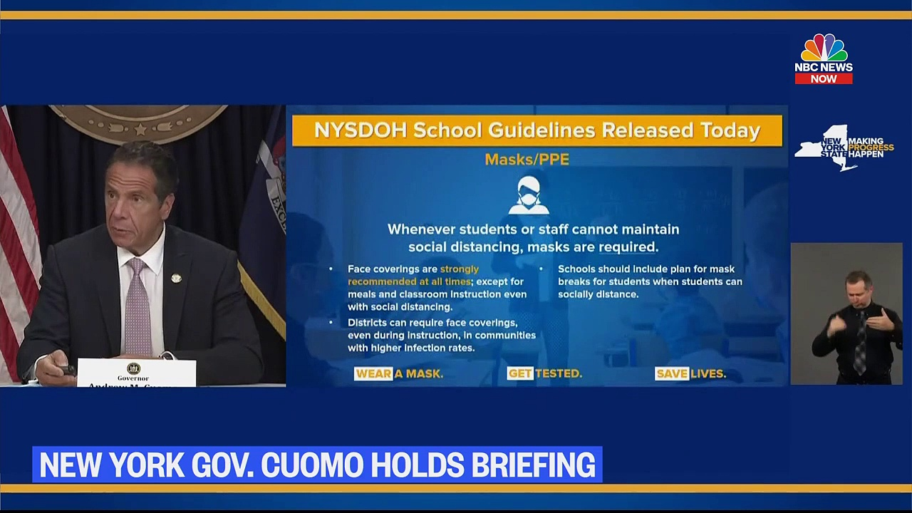 Live – New York Gov. Andrew Cuomo Holds Coronavirus Briefing _ NBC News