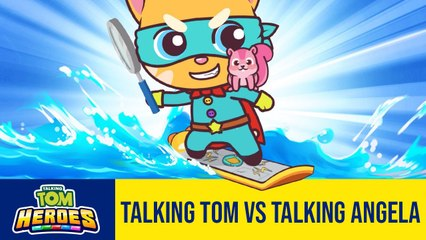 RUN!RUN!RUN! Talking Tom Heroes - Talking Tom vs Talking Angela - 2T Gaming