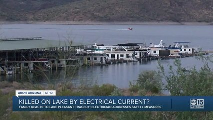 Two men killed by electric current at Lake Pleasant