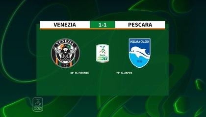 HIGHLIGHTS #VeneziaPescara 1-1 #SerieBKT