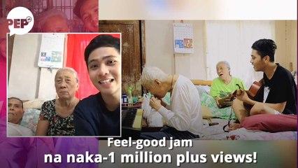 WATCH: Nakaka-good vibes na jamming session ni Apo kina Lola't Lolo