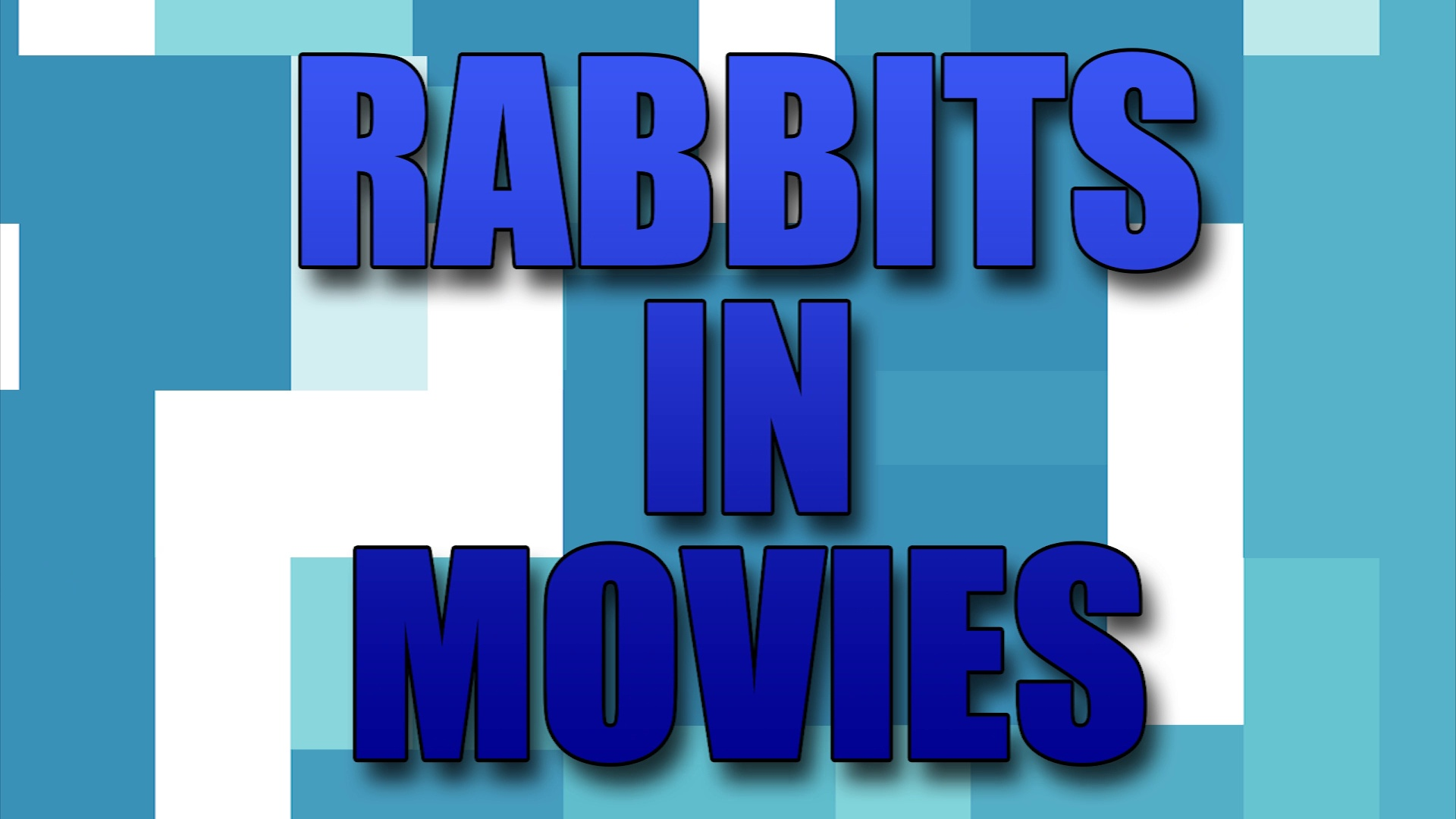 Rabbits in Movies