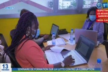 RTG/Séminaire de formation en ligne des secrétaires généraux sur la lutte contre la corruption