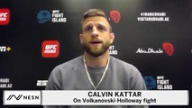 Calvin Kattar Believes Max Holloway Got Robbed At UFC 251